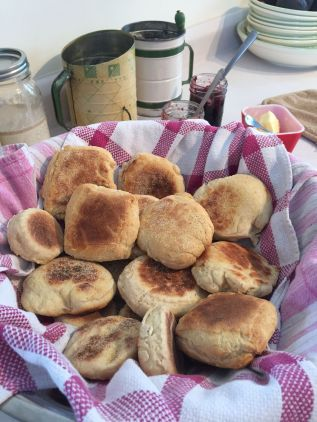 Bread English Muffins bowl