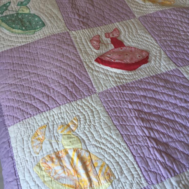 Crinoline girl quilt